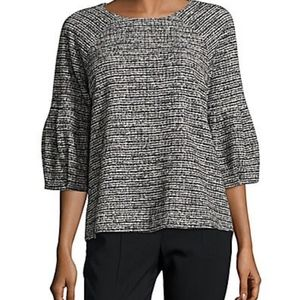 Calvin Klein Knitted Boatneck Top